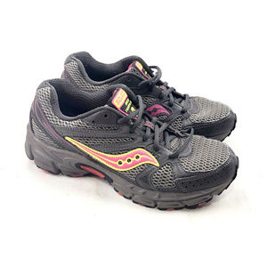 Saucony Grid Terrain Gray Pink Running Training